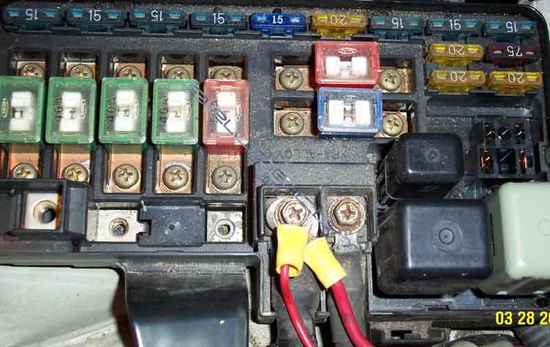 ecu reset procedure for honda prelude 97 Prelude Fuse Box